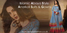 Islamic Abaya Style Anarkali Suits & Gowns