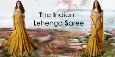 The Indian Lehenga Saree