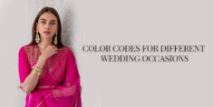 COLOR CODES FOR DIFFERENT WEDDING OCCASIONS